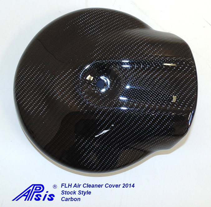 FLH Air Cleaner Cover 2014-CF-individual-straight view-1
