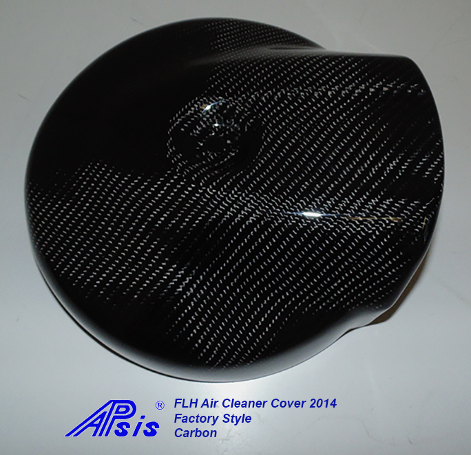 FLH Air Cleaner Cover 2014-CF-individual-straight view-2