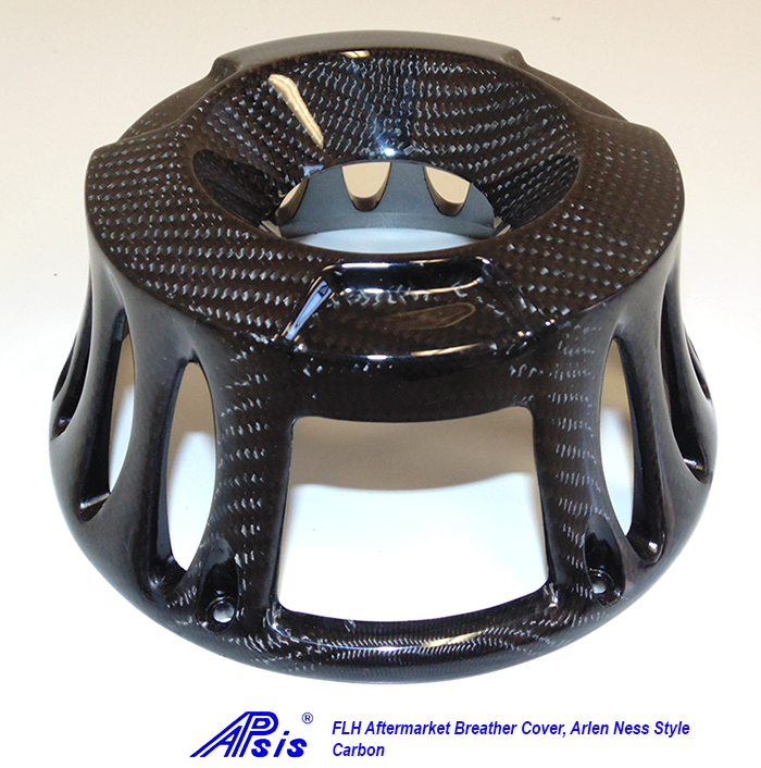 FLH Breather Cover-Arlen Ness style-1a