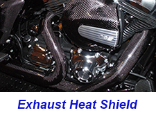 FLH Exhaust Heat Shield-installed-1 225