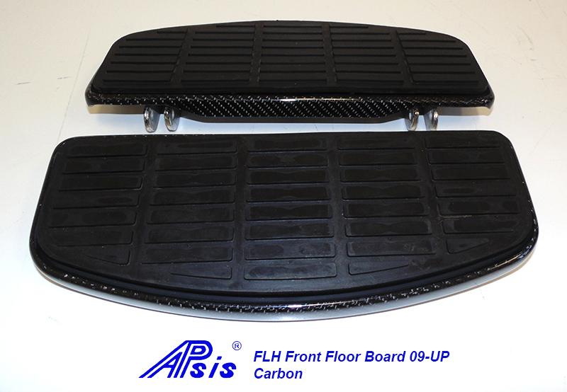 FLH Front Floor Board-factory style-CF-pair-1
