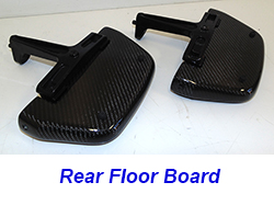 FLH Rear Floor Board 09-13-CF-pair-1