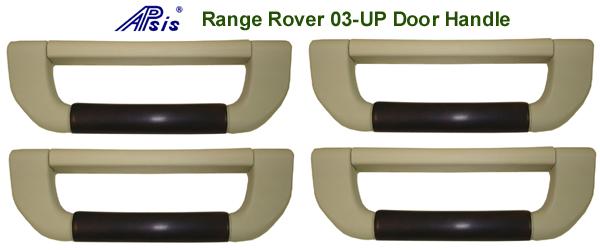 R.R.-Roof Handle-dark burl- 4pc-set 600