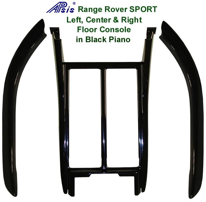 R.R.SPORT-Black Piano-Floor Console Surround  Center Left & Right  72p 768
