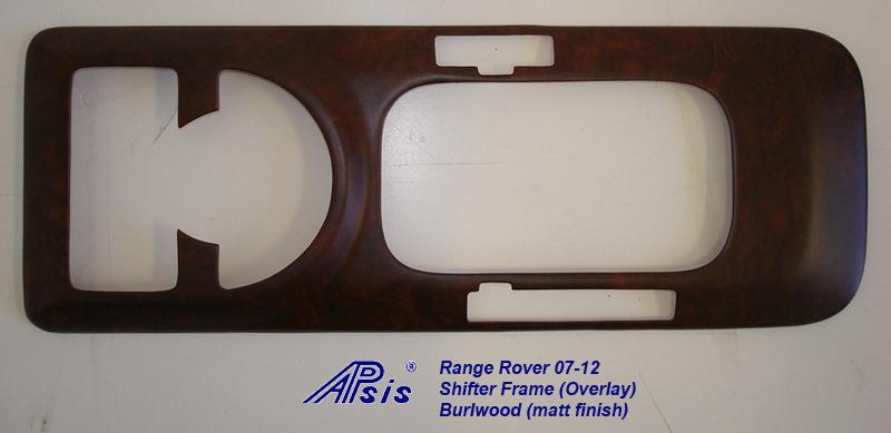 Range Rover 03-06 Shifter Frame-overlay-burlwood-1