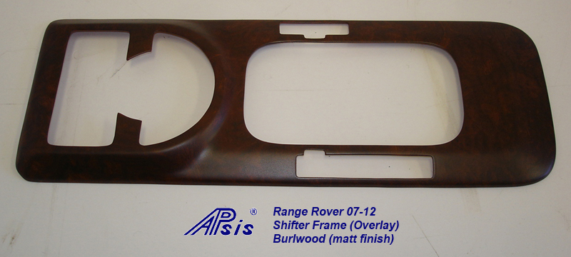 Range Rover 03-06 Shifter Frame-overlay-burlwood-2