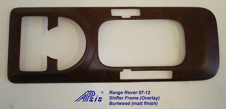 Range Rover 03-06 Shifter Frame-overlay-burlwood-3
