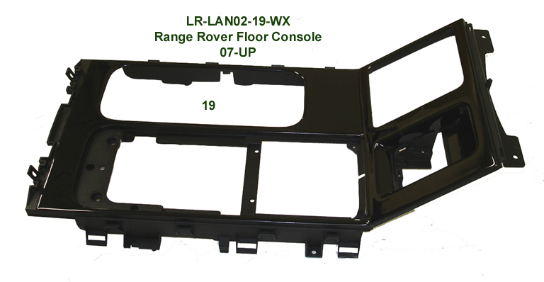 Range Rover 07-UP-Floor Console-Black Piano-678