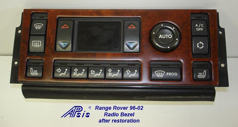 Range Rover 96-02-ac bezel-after restoration-2
