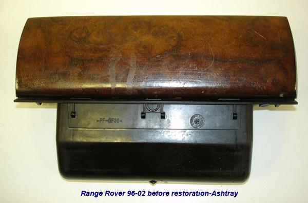 Range Rover 96-02-before lamination-ashtray-1