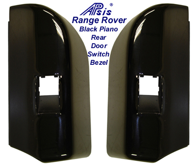 Range Rover Black Piano Rear Door Power Switch  Bezel