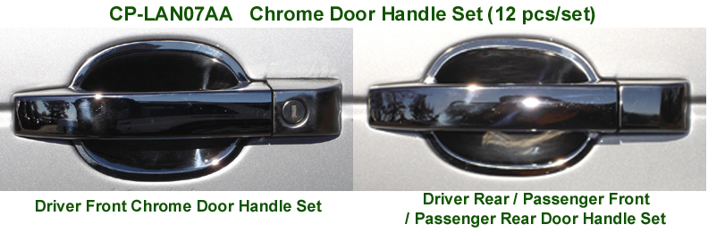 Range Rover Chrome Door Handle Set for web 72