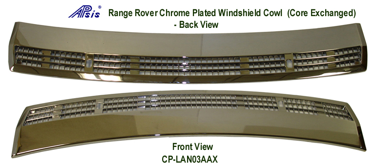 Range Rover-Chrome Plated-Windshield Cowl- 768