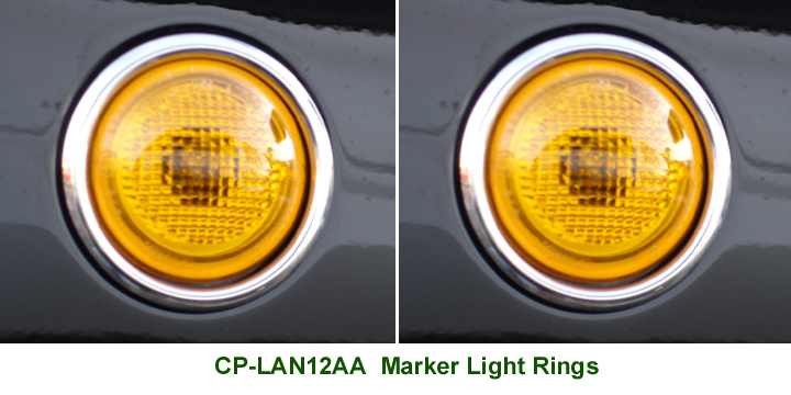 Range Rover Marker Light Rings - Web 72