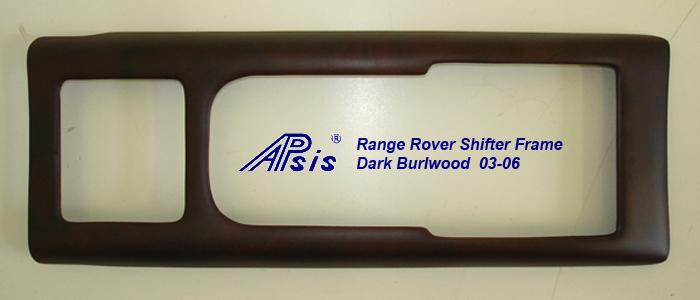 Range Rover Shifter Frame 03-06-dark burl-individual-1