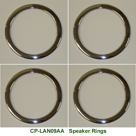 Range Rover Speaker Rings - w-description