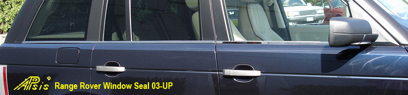 Range Rover-Stainless Window Seal-installed-4-front view-800