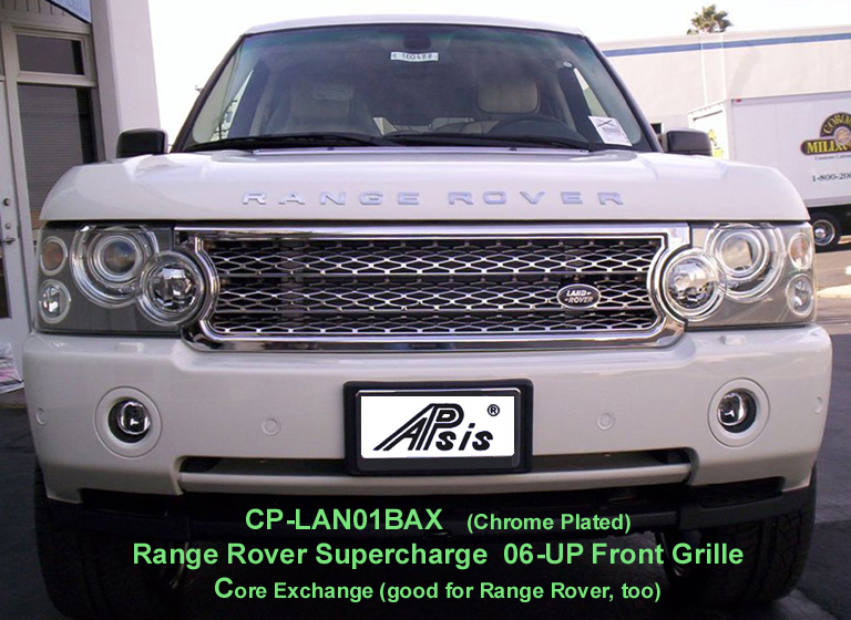 Range Rover Supercharged-Chrome Front Grille- 768
