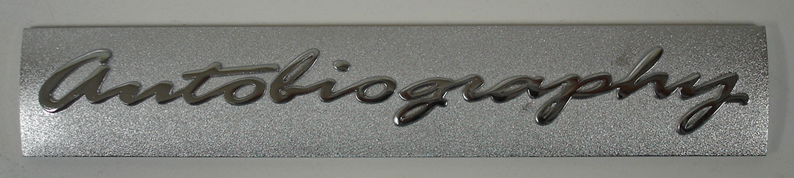 Range Rover-autobiography chrome letter