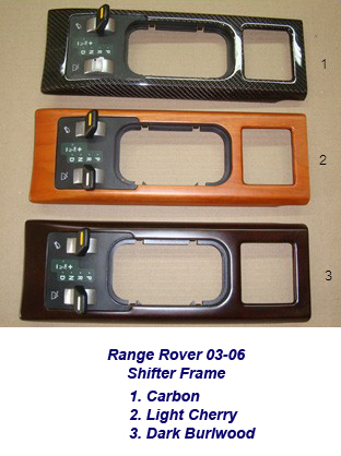 Range Rover-shifter frame-group-1