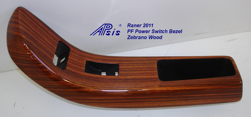 Ranger 2011-PF Power Switch Bezel-zebrano-1