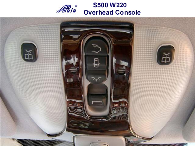 S500 W220 OverheadConsole 00-06