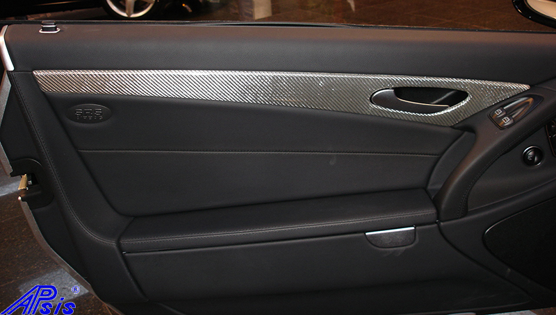 SL-Silver CF-DF Door Panel-installed-1