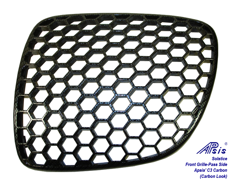 Solstice Front Grille-c3 carbon-right side-1