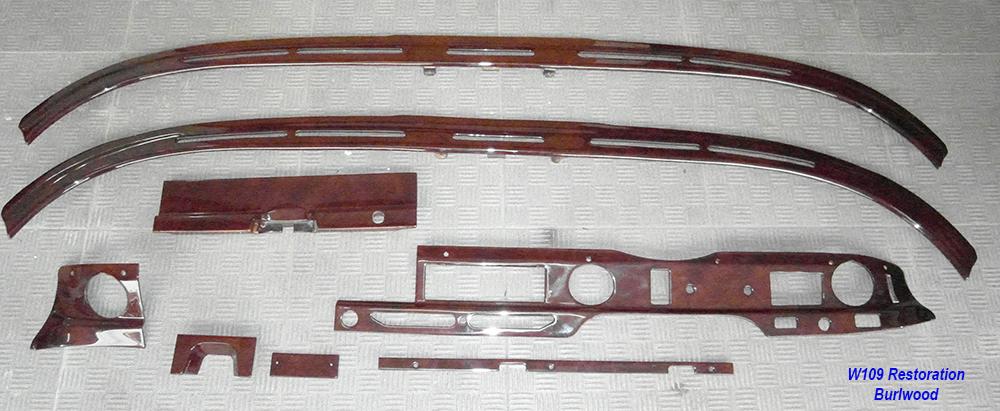 W109 LHD Restoration-burlwood-1
