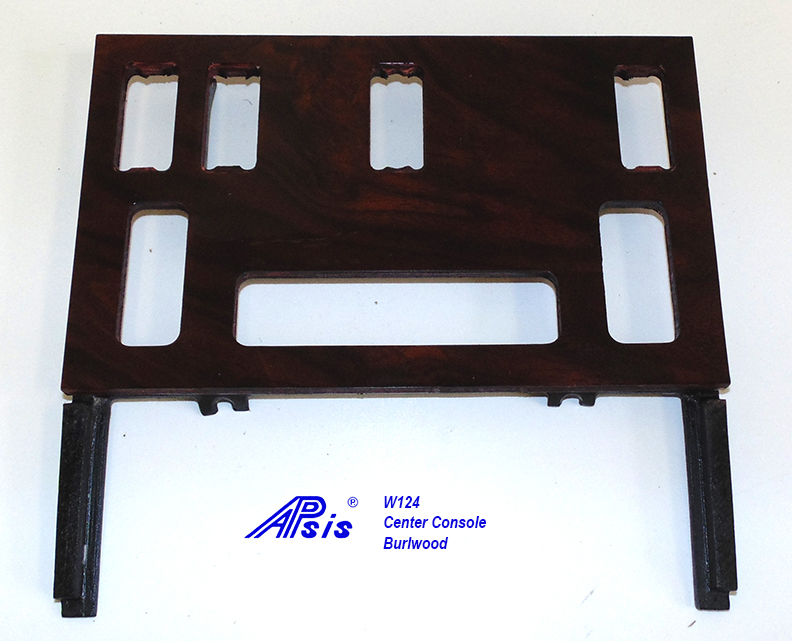 W124 Center Console-burlwood-2