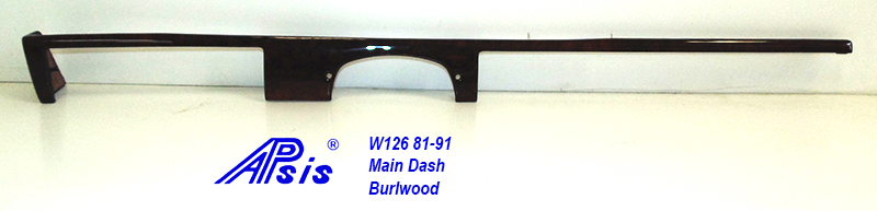 W126 Main Dash-burlwood-1