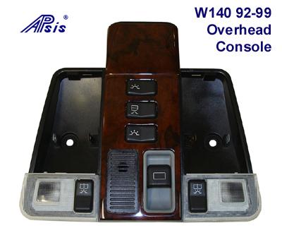 W140 92-99 Overhead Console - 400
