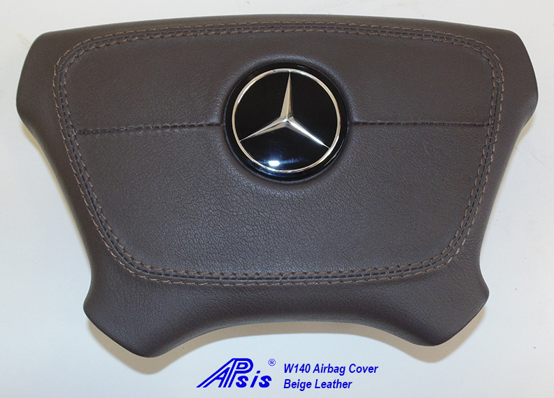 W140 Airbag Cover-beige-1