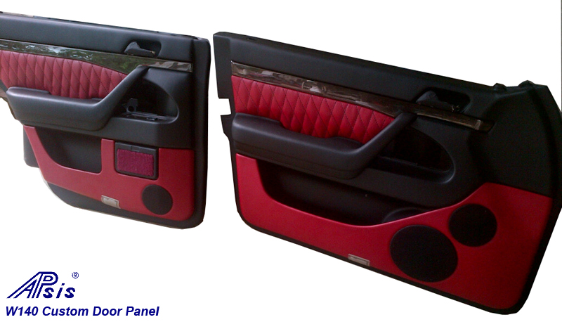 W140 Door Panle-EB+VR-finished-2-pair-done