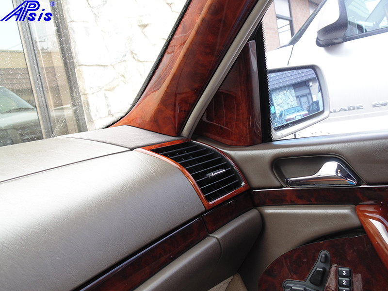 W140 Pass Air Vent-burlwood-installed-1