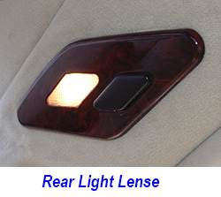 W140 Rear Light Lense-Installed-1 250