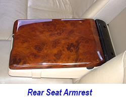 W140 Rear Seat Armrest-installed-1 250