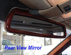 W140 Rear View Mirror-Installed-1 250