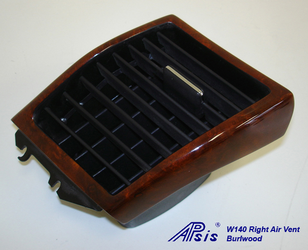W140 Right Air Vent-burlwood-individual-2
