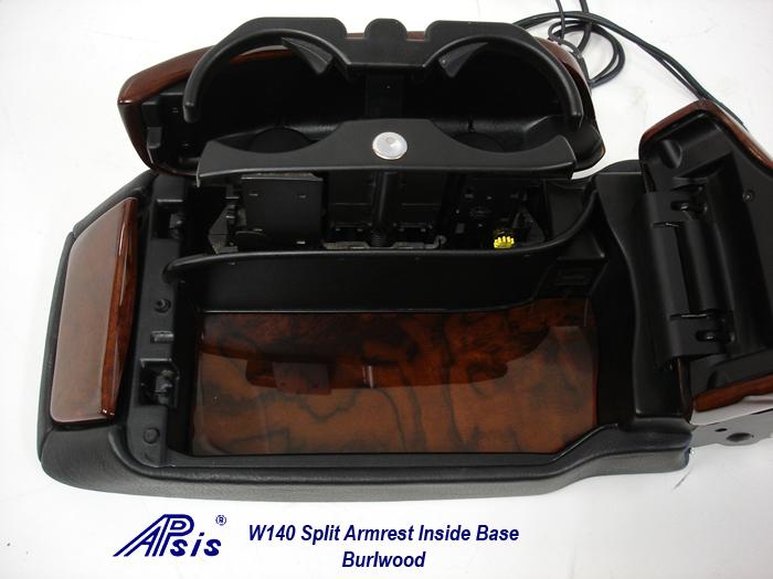 W140 Split Armrest 98-99-5-inside base