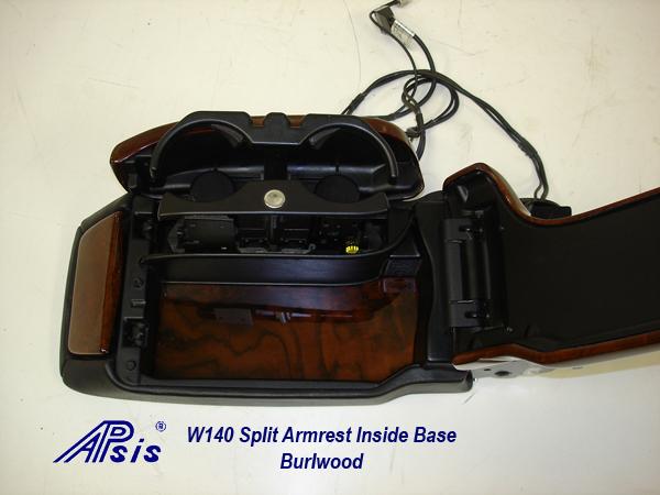 W140 Split Armrest 98-99-6-inside base