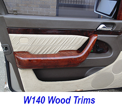 W140 Wood Trims-250