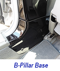 W140 b-pillar base-plack piano-1 200