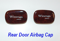 W140 rear door airbag cap-1 250