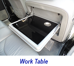 W140 work table-black piano 250