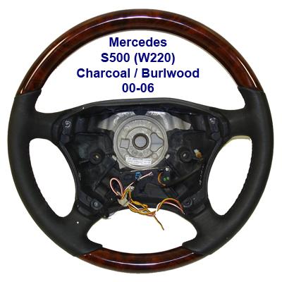 W220(S500) Charcoal-Burlwood-Heated 00-06