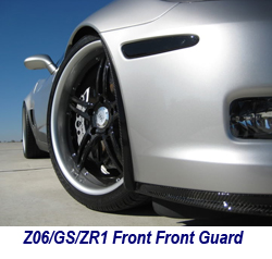 Z06 CF Front Front Guard 250
