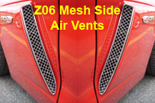 Z06 Mesh Side Air Vent Index