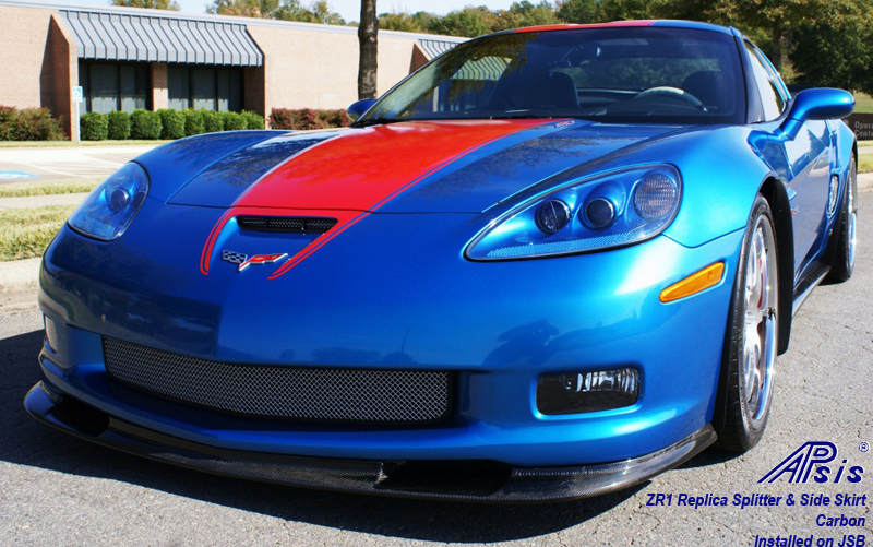 ZR1 Carbon Splitter + Side Skirt-installed on jsb from ron-3
