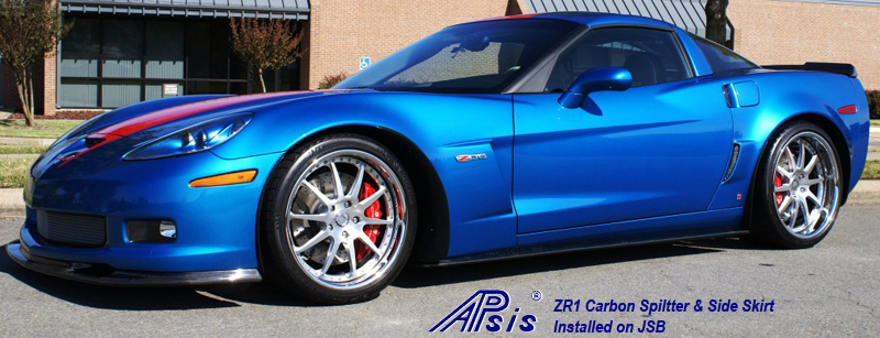 ZR1 Carbon Splitter + Side Skirt-installed on jsb from ron-4